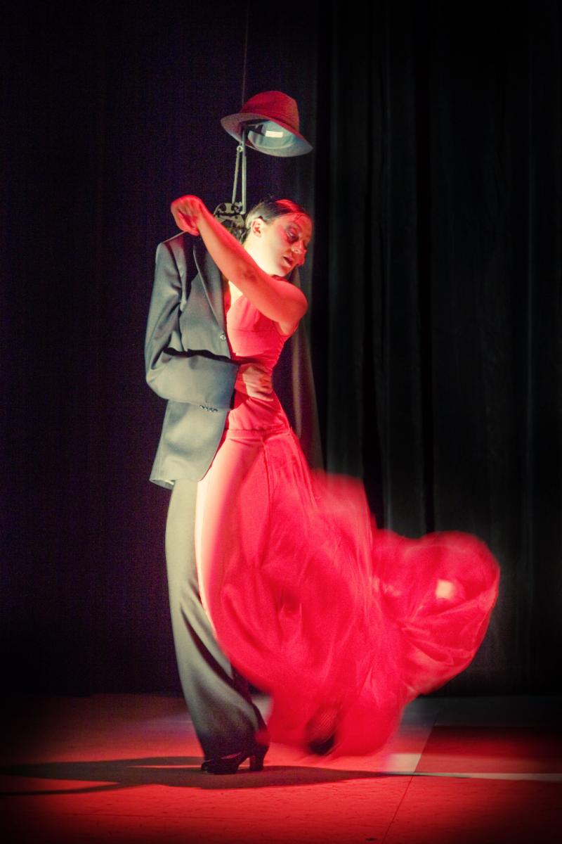 Choni konpainia flamenkoa: Tejidos al tiempo
