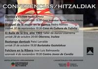 Hitzaldia: Baztango dantzak
