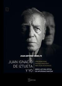 """""""Juan Ignacio de Iztueta y yo"""" liburuaren aurkezpena"""