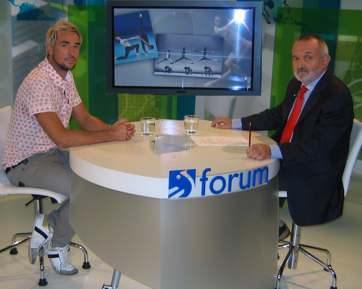 Asier Uriagereka ETB2ko Forum saioan