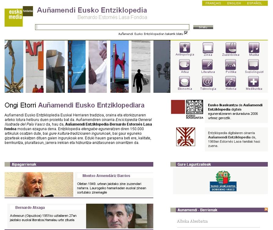Dantza Auñamendi Eusko Entziklopedian - Sarrera