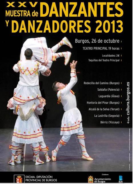 Danzante, danzadore eta dantzariak Burgos-en