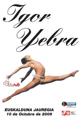 Igor Yebraren omenaldia Errusiako Balet-ei