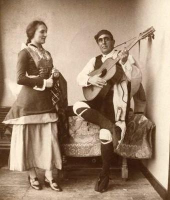 Erronkariko bikotea 1922