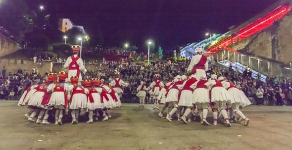 2016 06 24 Eibar San Juan Aunitz Urtez ezpata dantza soka dantza 6938 IZ
