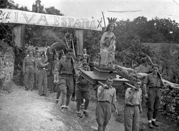 Berriz 1939, Andikonan prozesioa