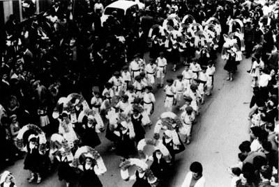 Eibar Euskal Jaia 1965-70 inguruan