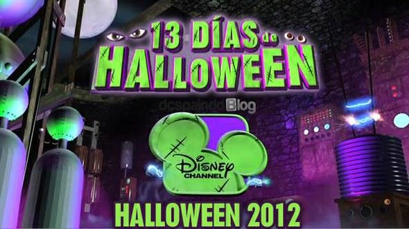 Halloween Disney Channel 13 dias