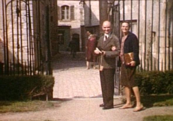 Jean Michel eta Helene Guilcher