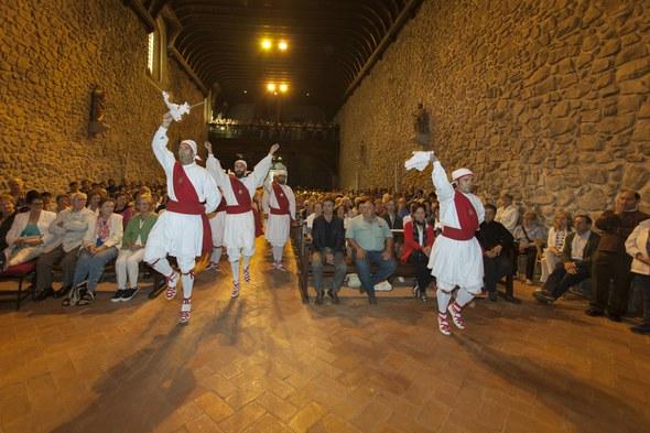 Kezka, Arrate 2015: Elizan ezpata-dantza