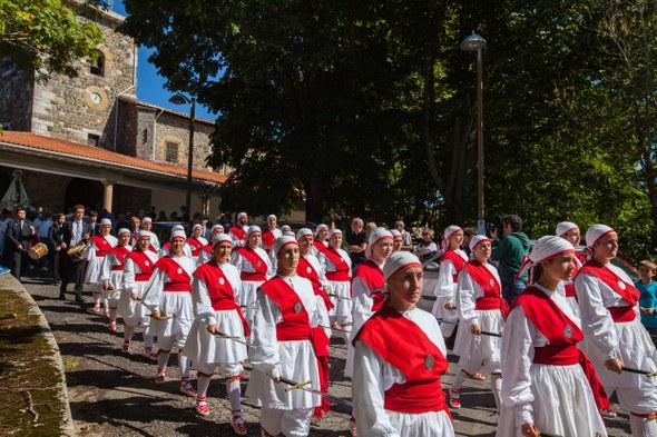 Kezka, Arrate 2015: Prozesioa