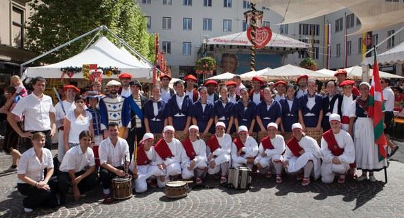 Kezka dantza taldea Villach-en Austria 2013