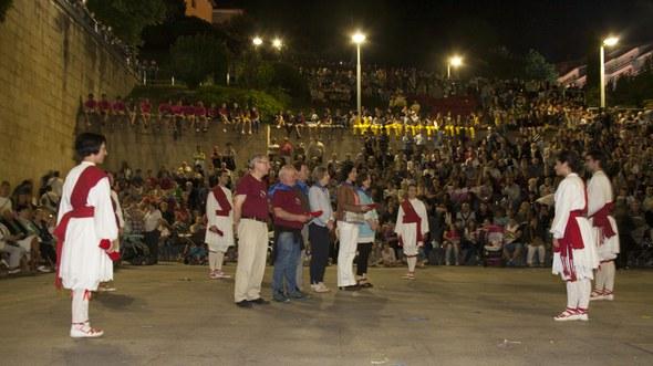 Kezka, San Juan soka-dantza 2015: Agurra