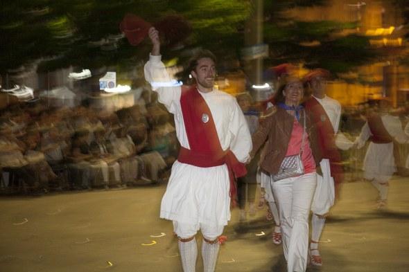 Kezka, San Juan soka-dantza 2015: Irteera