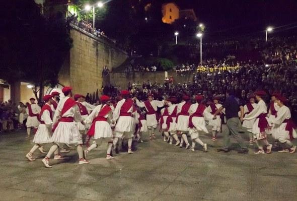 Kezka, San Juan soka-dantza 2015: Kalejira zubiak