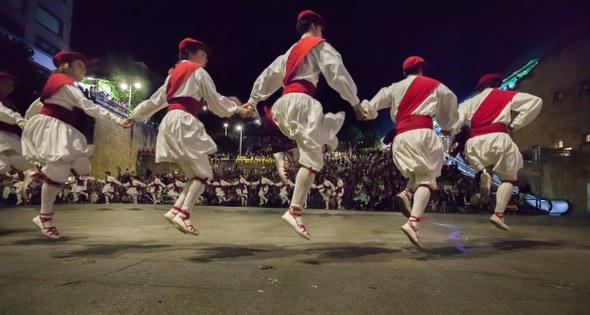 Kezka, San Juan soka-dantza 2015: San Juan saltoan