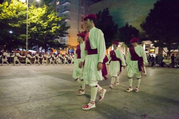 Kezka, San Juan soka-dantza 2015: Zerbitzariak