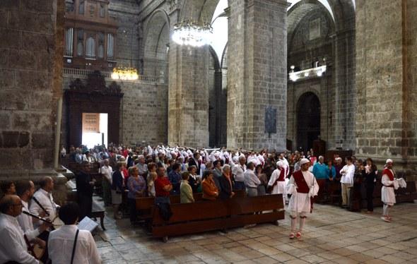 Kezka, Valladolid 2015: Sarrera katedralean