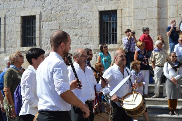 Kezka, Valladolid 2015: txistulariak