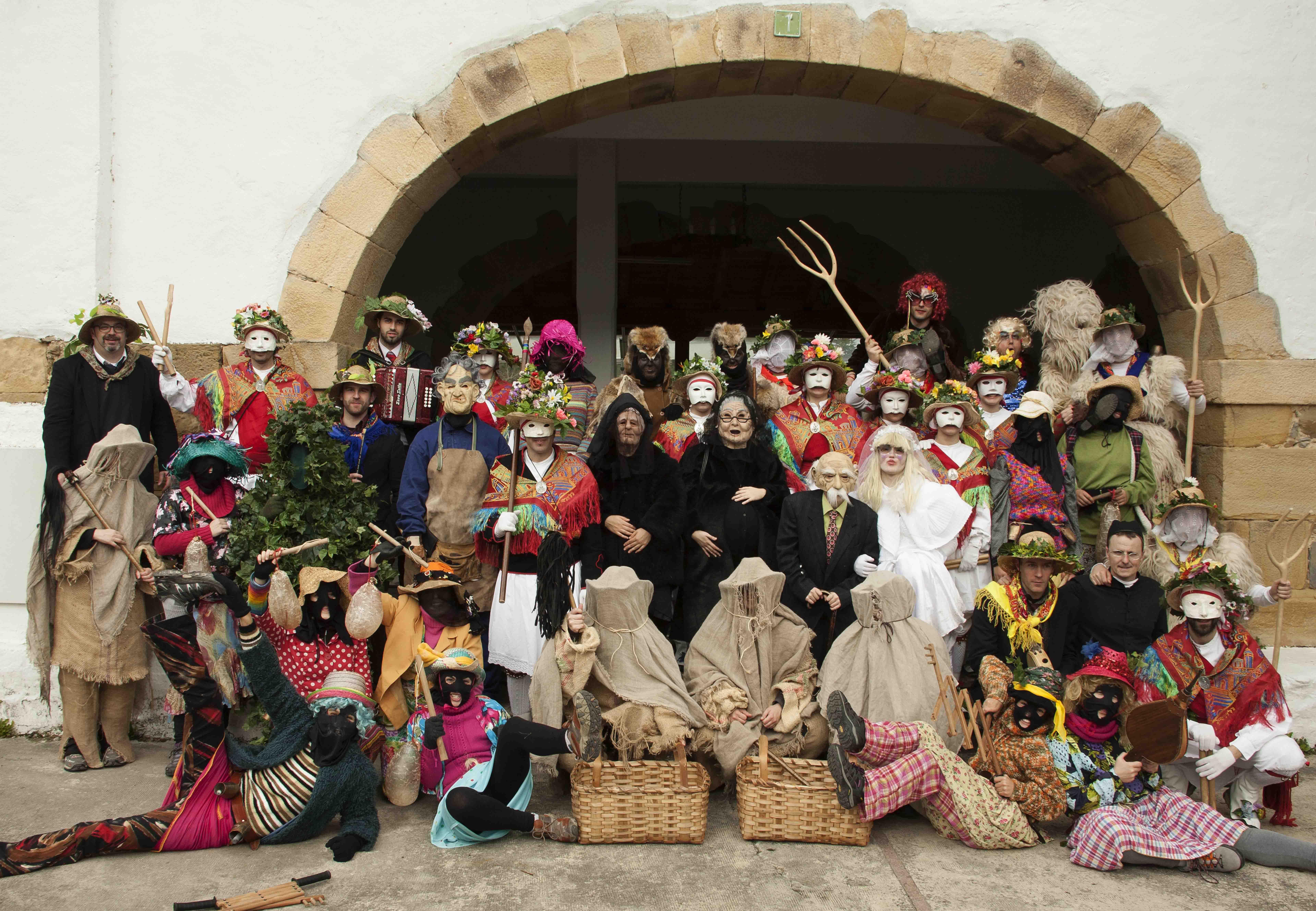 Koko-dantzak 2014: taldeko argazkia