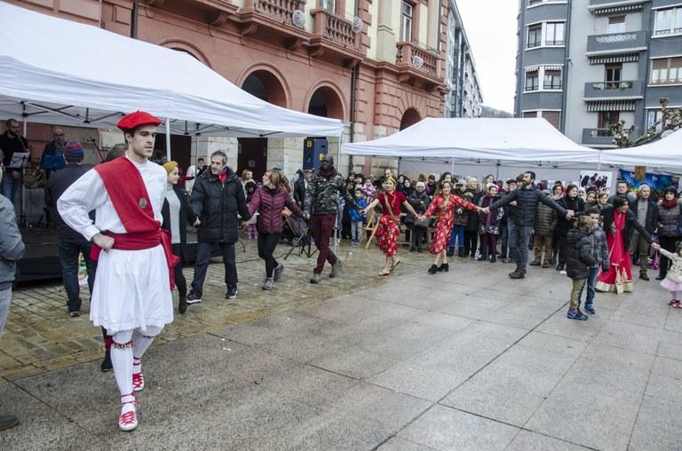 Kultura-arteko soka-dantza Eibare 2017