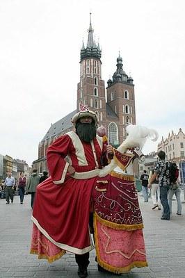 Lajkonik Krakowa - Izabella Zamojska (Stary Gierałtów)