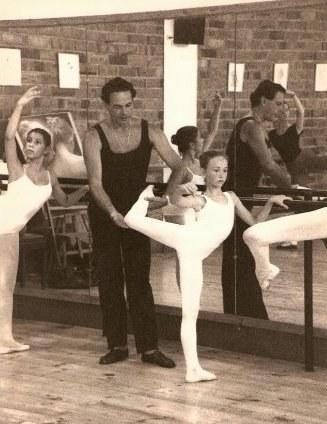 Lucia Lakarra Rosella Hightower ikastaroa 1986 Tarragona 02
