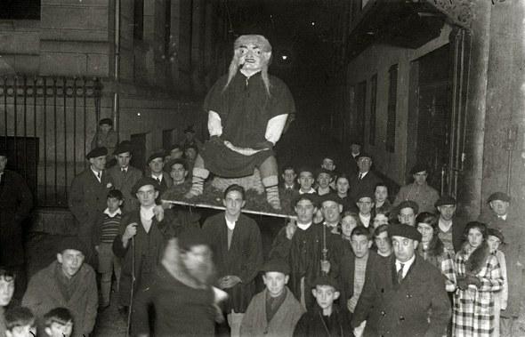 Olentzero Donostia 1931