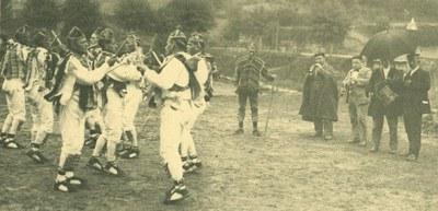 Otsagabia 1930 dantzariak eta musikariak