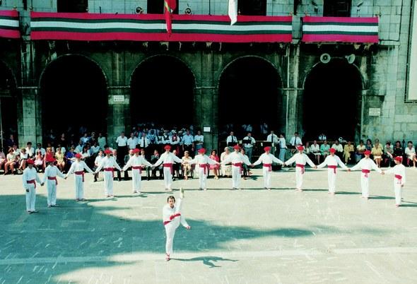 San Bartolome eguneko soka-dantza