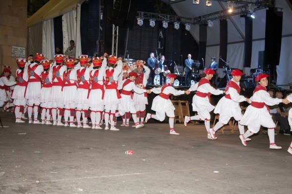 San Juan ezpata-dantza eta soka-dantza. FL-6807