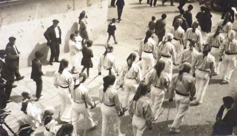 Zaldibia 1929 ezpata-dantza