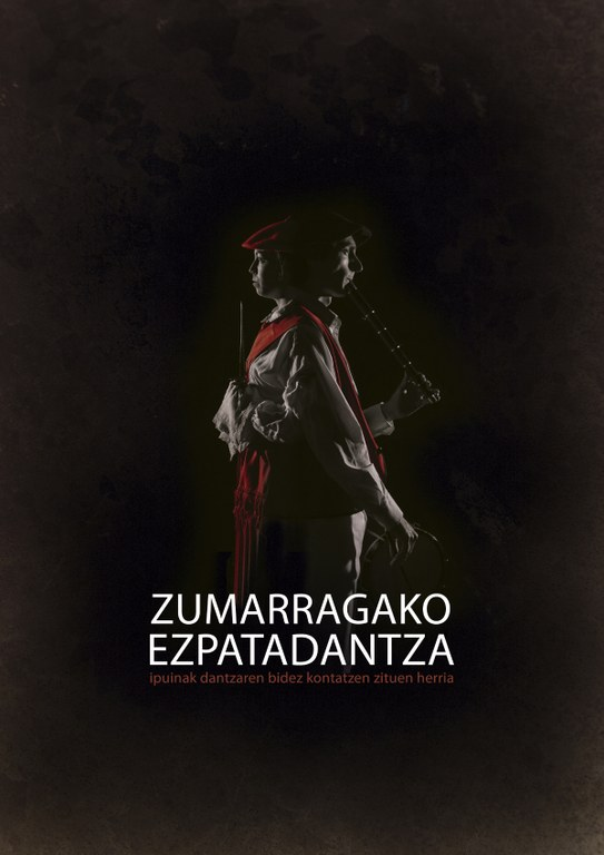 Zumarragako ezpata-dantzaren inguruko dokumentalaren kartela.