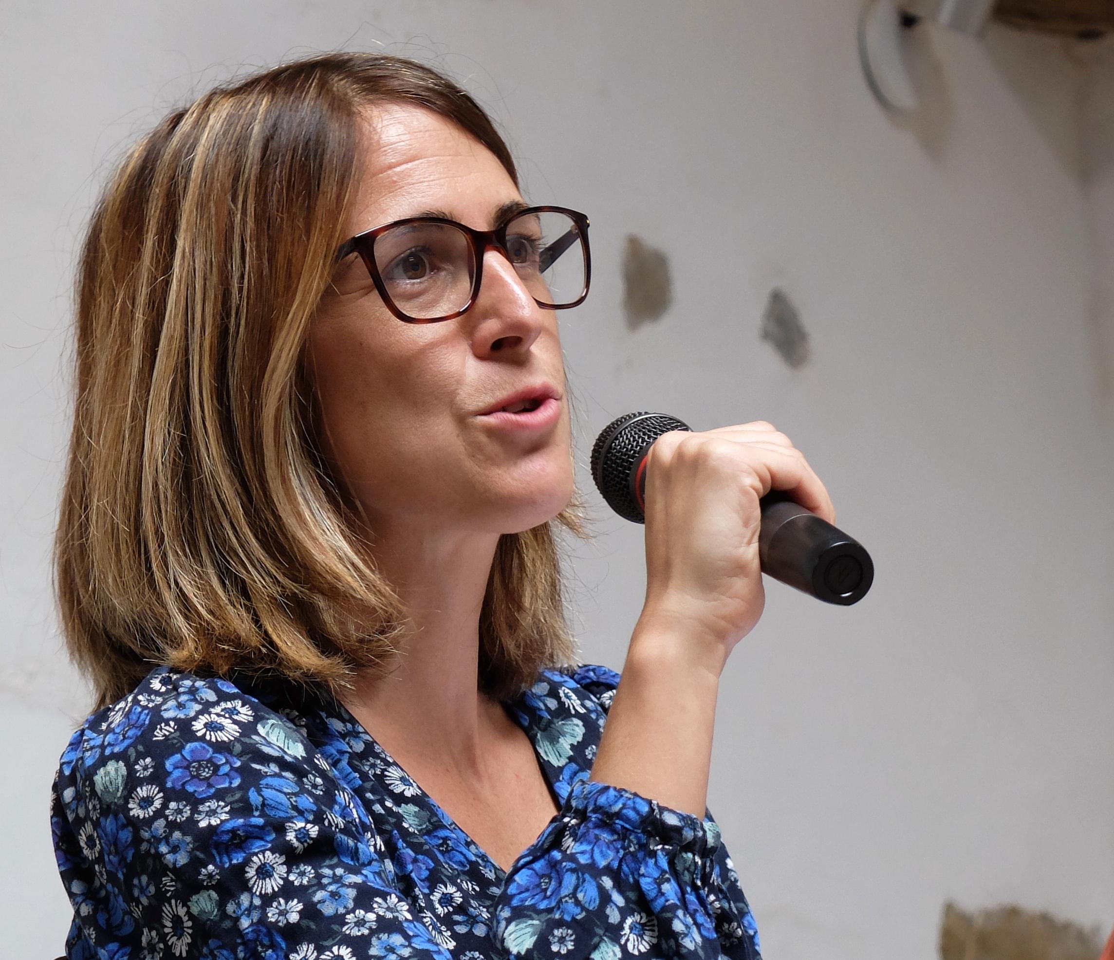 """Maite Irizar: """"Hau guztia gaurdaino heltzeko ezinbestekoa izan da transmisioa"""""""