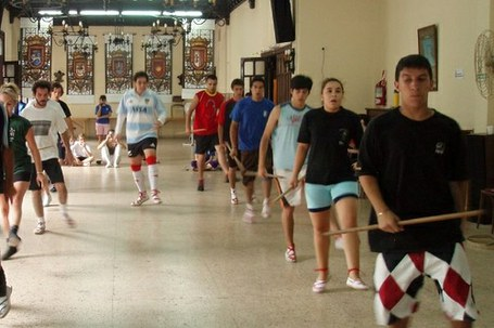 Nafarroako dantzen ikastaroa Buenos Aires-en