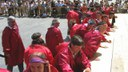 Andoain: Axeri dantza 2009 Perra jartzea