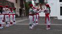 Bera: San Esteban 2020 bordon-dantza eta makila-dantzak