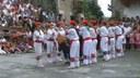 Bera: San Esteban 2010 makil-dantzak: zahagi-dantza
