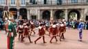 Burgos: Corpus 2015 danza de espadas