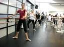 Dantza klasiko klasea Orlando Salgadorekin 2009 02