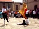 Hinojosa de Duero: Bandera-dantza
