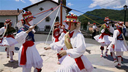 Iruñea: San Fermin 2020 zinta-dantza