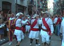 Iruñea: San Lorenzo 2004 arku-dantza kalean