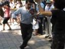 Horra Pedro Cabrera, bibolina jo eta dantzatzen biak batera