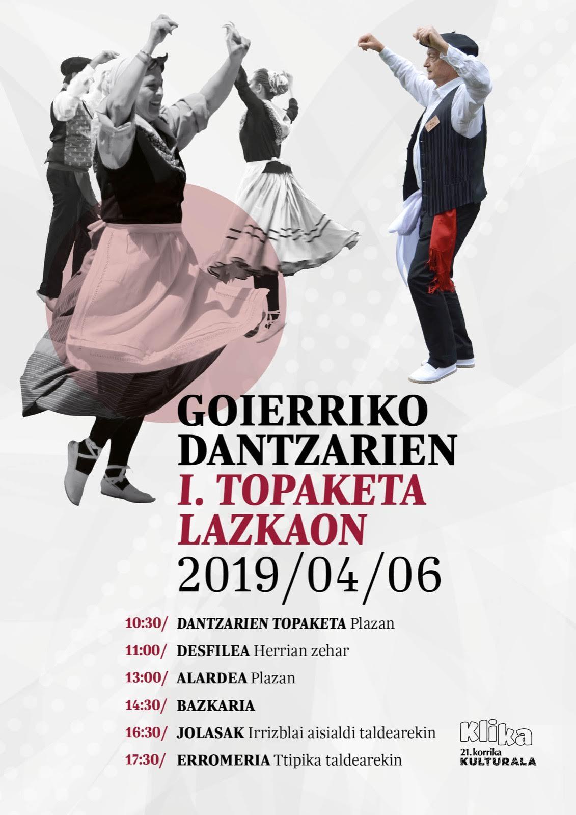 Goierriko dantzarien I. Topaketa