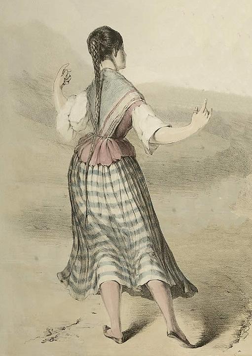 Dantzari ahaztua: Maria Francisca Escolastica (Durango 1749)