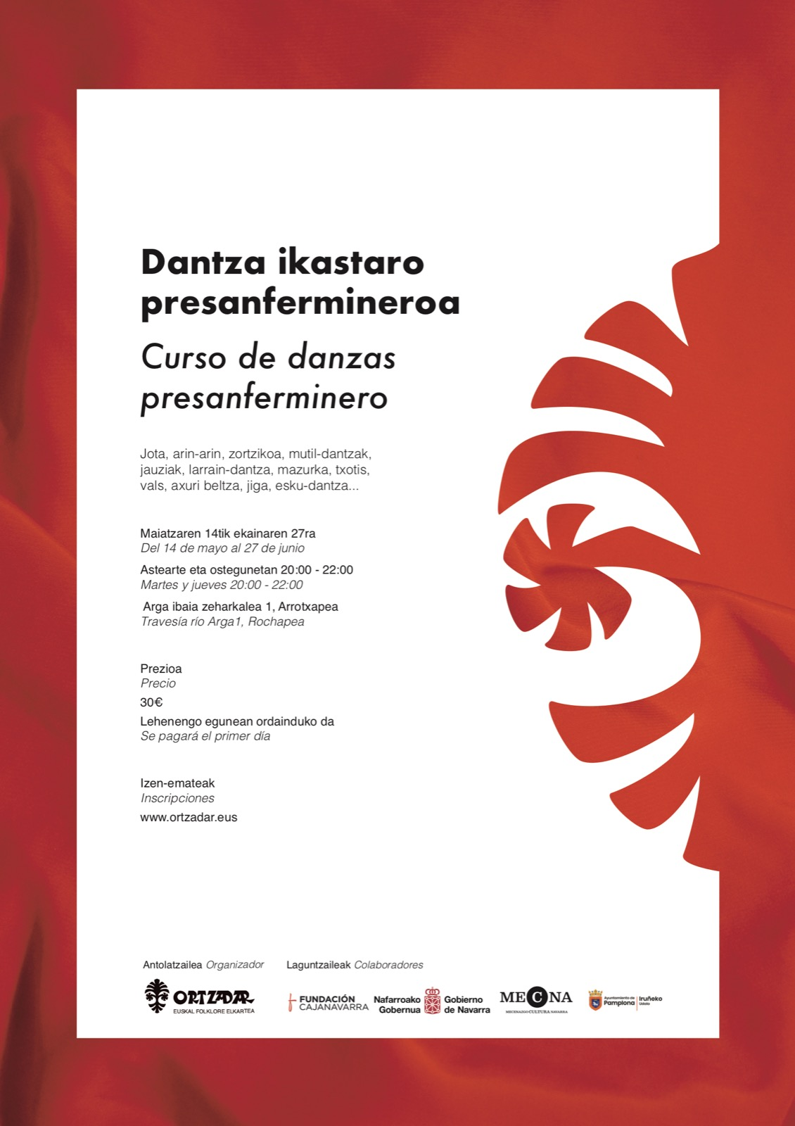Dantza Ikastaroa presanfermineroa