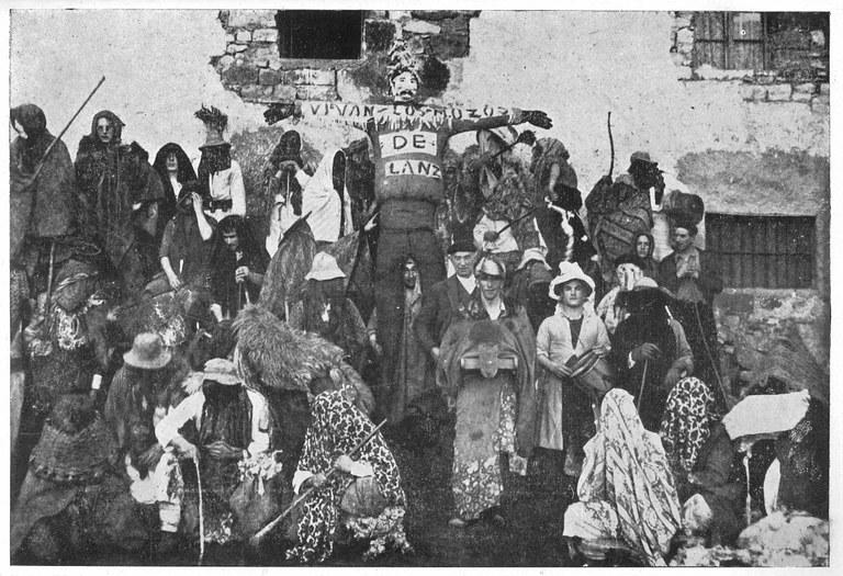 "Jose Mª IRIBARREN: ""El Carnaval de Lanz"" (1949)"