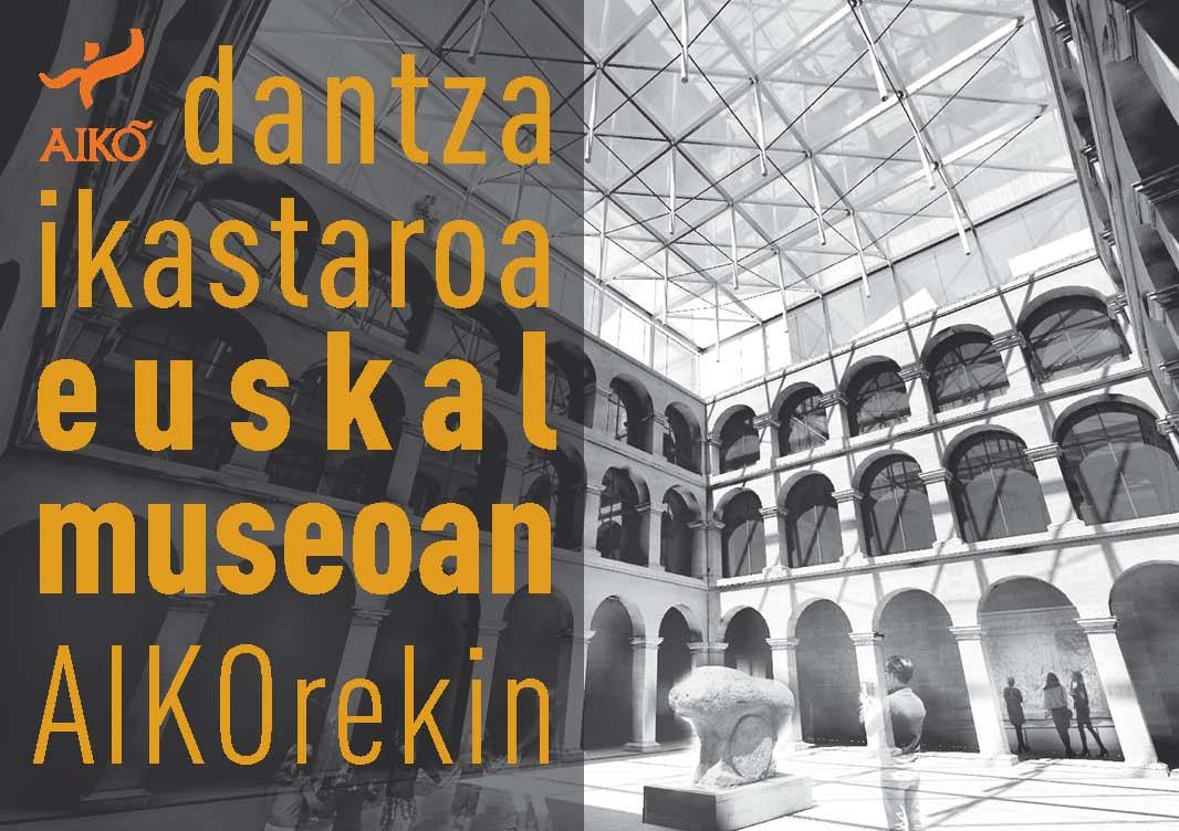 Dantza ikastaroa astelehen guztietan, urritik ekainera Euskal Museoan