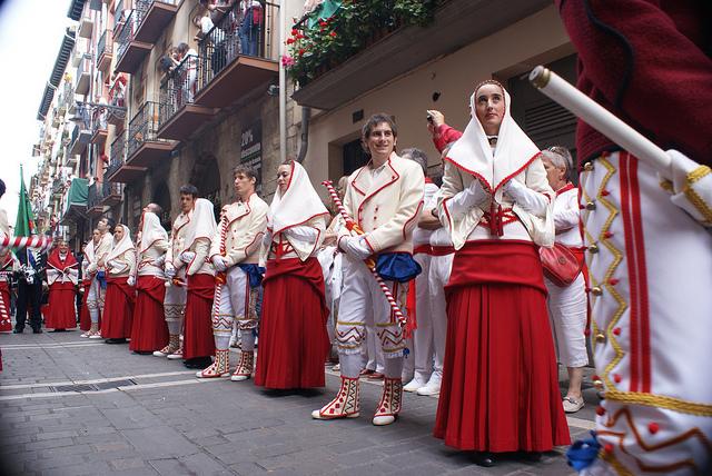 Iruñeko dantzarion agenda Sanferminetarako
